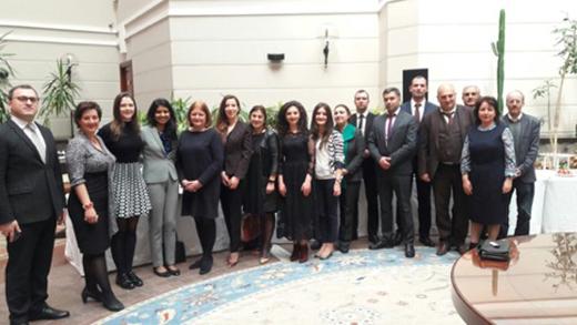 Կառավարման և ռիսկի միջազգային ինստիտուտի աջակցությամբ իրականացված ծրագրի արդյունքների քննարկում