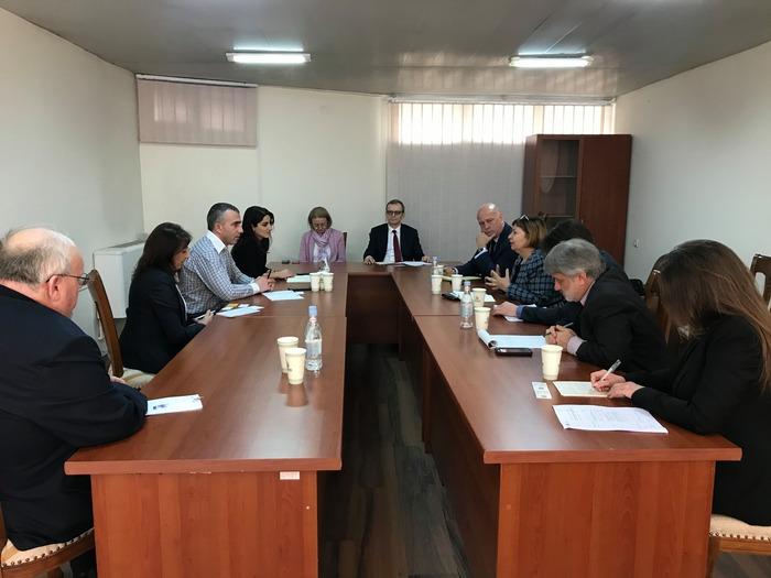 Հանդիպում միջազգային գործընկերների հետ