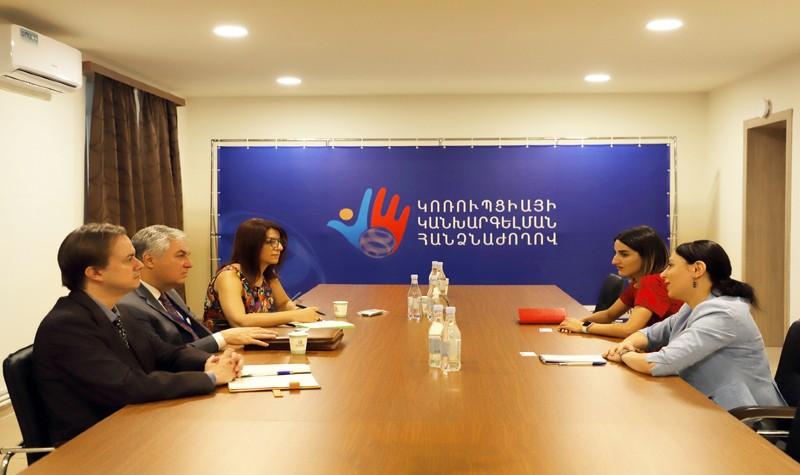ԱՄՆ ՄԶ գործակալությունը Հայաստանում կաջակցի կոռուպցիայի կանխարգելմանը